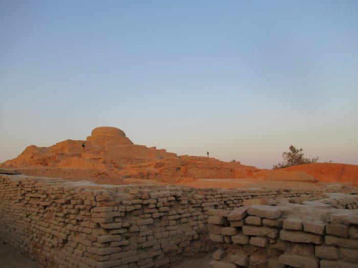 """MohenjoDaro, Pakistan. View of Stupa. (February 2017)"" Photograph taken by Chair of NYAS Anthropology Uzma Z. Rizvi"